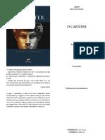 Release_O Caráter