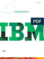 Smarter Electronics Industry - IBM Point of View