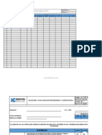SST-FRT-006 Seleccion y Evaluacion de proveedores y contratistas