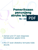 Pemeriksaan penunjang stroke ischemic.ppt