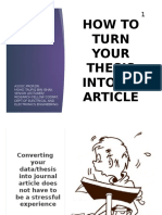 How to turn Your Thesis Into an Article_MTI_V2