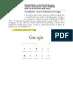 Estructuración de Clases Mediante la Aplicación Classroom_Oscar Portilla