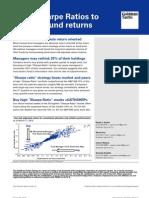 10.03.19 Goldman Sachs - Using Sharpe Ratios