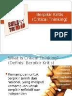 Berpikir kritis (1)