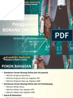 Materi Internship Borang Online Pembekalan Mei 2019