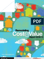 2010-11 Remodeling Cost Vs. Value Report Phoenix Arizona