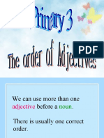 P3_The Order of Adjectives.ppt