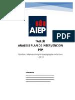 taller ANALISIS PLAN DE INTERVENCIÓN.docx