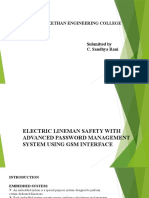 PPT electric lineman safety