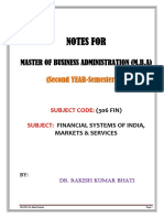 Financial system of Indianotes