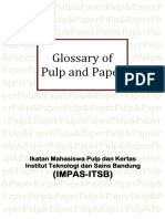 Glossary of Pulp and Paper