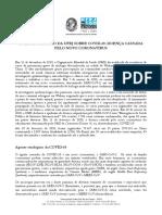 Boletim Técnico Da UFRJ Sobre COVID-19