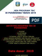 MANAJEMEN PROGRAM TB PUSKESMAS BANYUANYAR TAHUN 2020