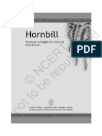 NCERT Textbook in English Hornbill for Class 11 Core Course Copy