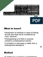 3-METHODS OF PHILOSOPHY