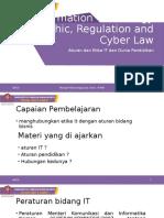 P2. aturan IT dan pendidikan