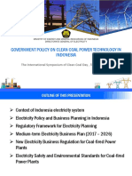 5. Government Policy on Clean Coall Power Technology in Indonesia (Mr. Atmo)