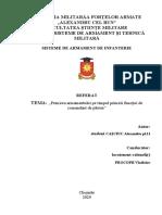 Referat Primirea armamentului (Cașciuc).docx