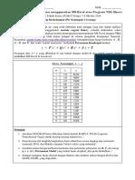 _Tugas_1Siang - Regresi Linier menggunakan Program VBA Macro dan lainnya