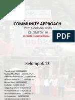 laporan community approach klp 10bgf