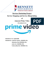 AMAZON PRIME VIDEO SERVICE MAPPING