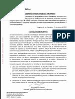 Pregunta de Marta Martín (Cs) el 22 de enero al Gobierno