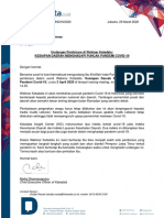Surat Undangan Pembicara - Gubernur Jawa Timur Khofifah Indar Parawansa
