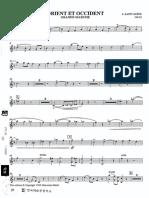 Orient et Occident (C.Saint-Saëns)-Trompeta Bb 1