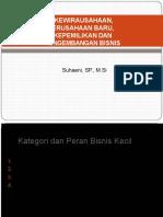 III. kEWIRAUSAHAAN, PERUSAHAAN BARU & KEPEMILIKAN BISNIS.pptx