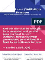 Feast of Passover
