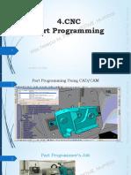 4. CNC   Part Programming