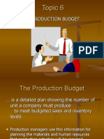6. PRODUCTION BUDGET (1)
