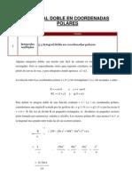 5.5 Integral Doble en Coordenadas Polares.