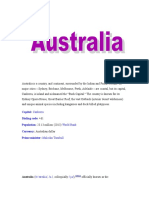 AUSTRALIA DOC FINALS