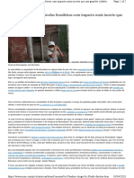 Coronavírus Chega Às Favelas Brasileiras Com Impacto Mais Incerto Que Nas Grandes Cidades