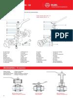 Válvulas para fluido térmico - Cat_VB_(pag-4-5)mod_44_45_59