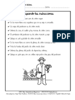 COLOREA SIGUIENDO INSTRUCCIONES