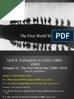 31.The First World War Student.pptx