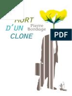 Pierre Bordage - Mort d'un clone.epub