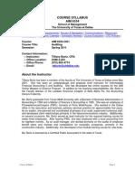 UT Dallas Syllabus for aim6334.0g1.11s taught by Tiffany Bortz (tabortz)