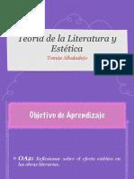 Estética en La literatura