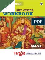 7th History Workbook English Medium Maharashtra Board