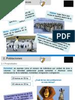 PPT Clase 24 Poblaciones y comunidades