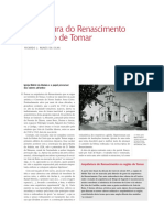 ARQUITETURA DO RENASCIMENTO NA REGIÃO DE TOMAR