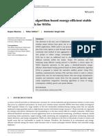 FPA based clustering Protocol IJCS 2020