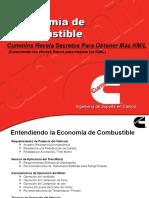 Factores de Economía de Combustible Cummins_ actualizada