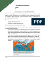 Guía De Actividades Pedagógicas. Civilizaciones precolombinas