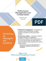 MF session 3 Performance Management and Compensation