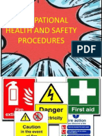 apply occupational health and safety procedures 1