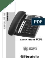 Manual de Instruções - IBRATELE - Capta Phone Plus